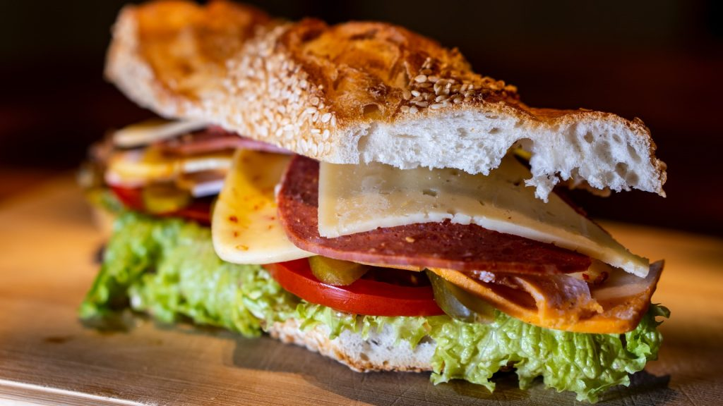 Beef Cheese Sandwich