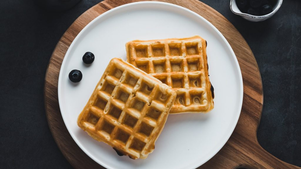 process Crispy Waffles