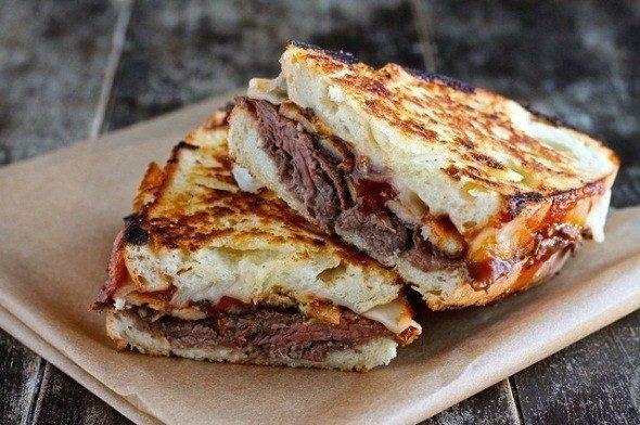 Grilled Chicken Cheese Sandwich