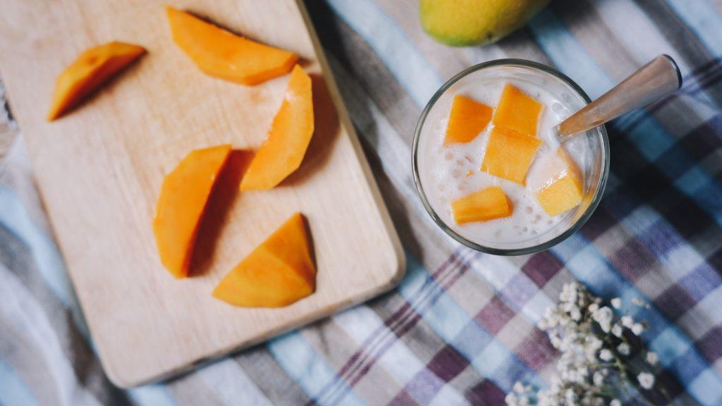 Mango Mousse Procedure