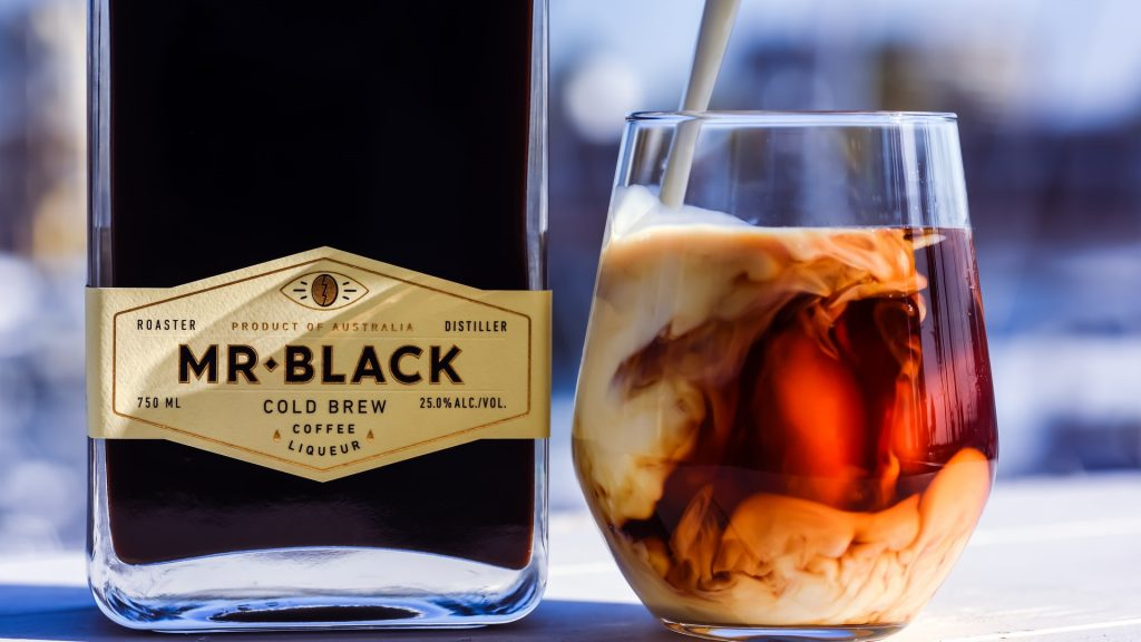 White Russian Coctail