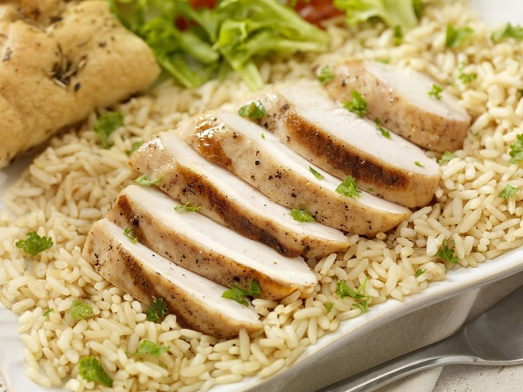 Article 6 Grilled Chicken With Brown Rice