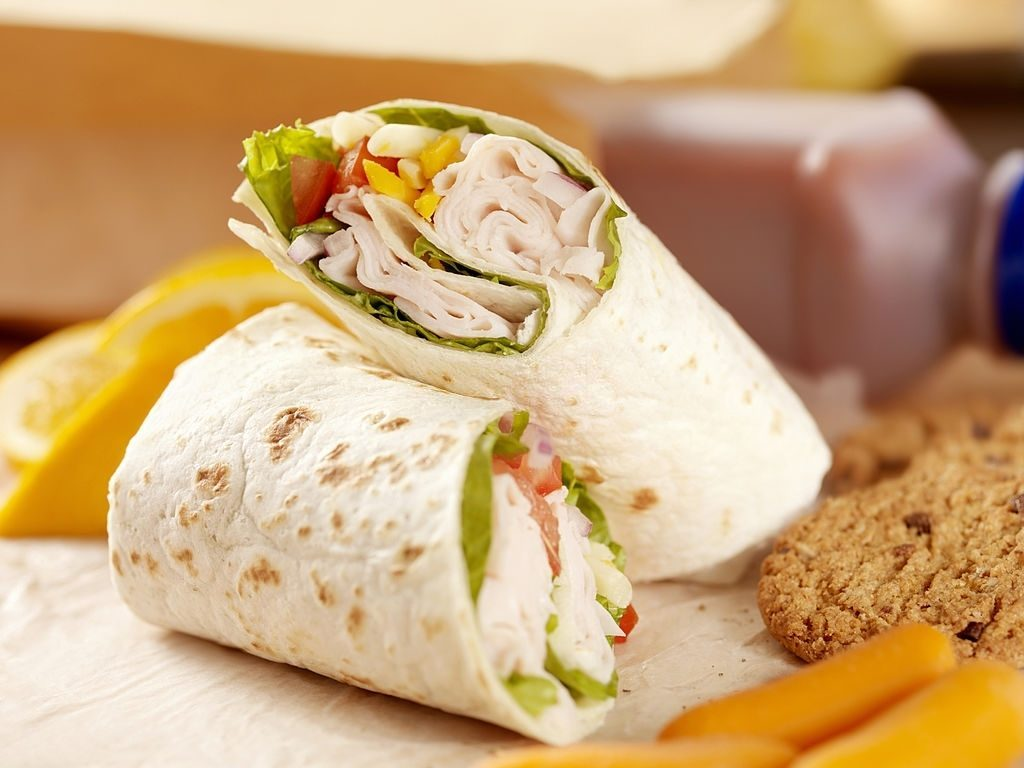 Healthy Meal and Turkey Wrap Day 14
