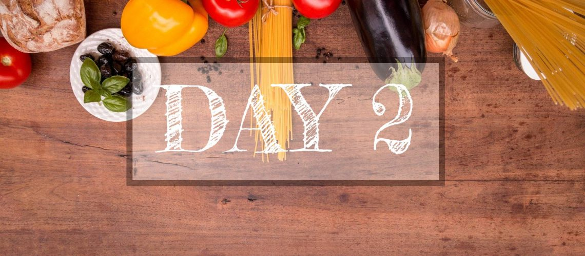 Day 2 of Healthy Meal Plan –  What to eat today?