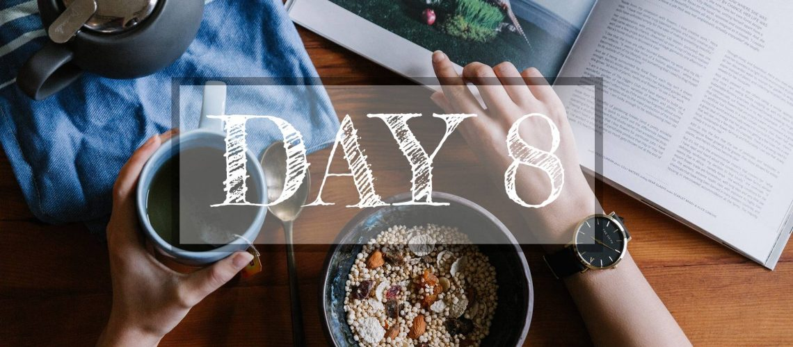 Day 8 of Healthy Meal Plan – What to eat today?
