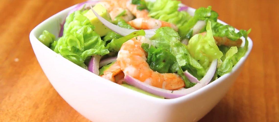 Avocado Shrimp Salad Recipe