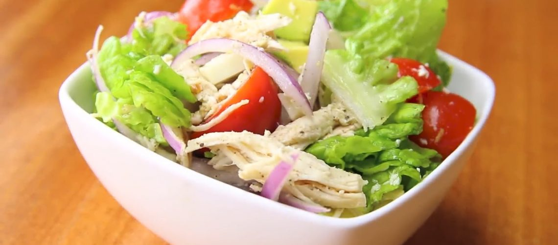 Chicken Salad Recipe With Lettuce And Tomato