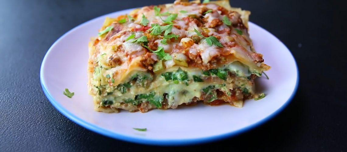 Healthy Low Cal Lasagna