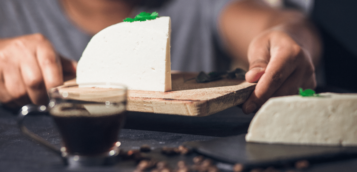 Cheese With Medium Roast
