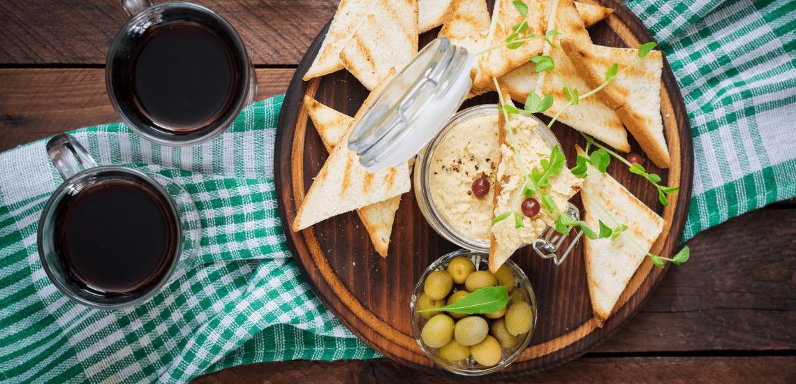 Hummus With Americano