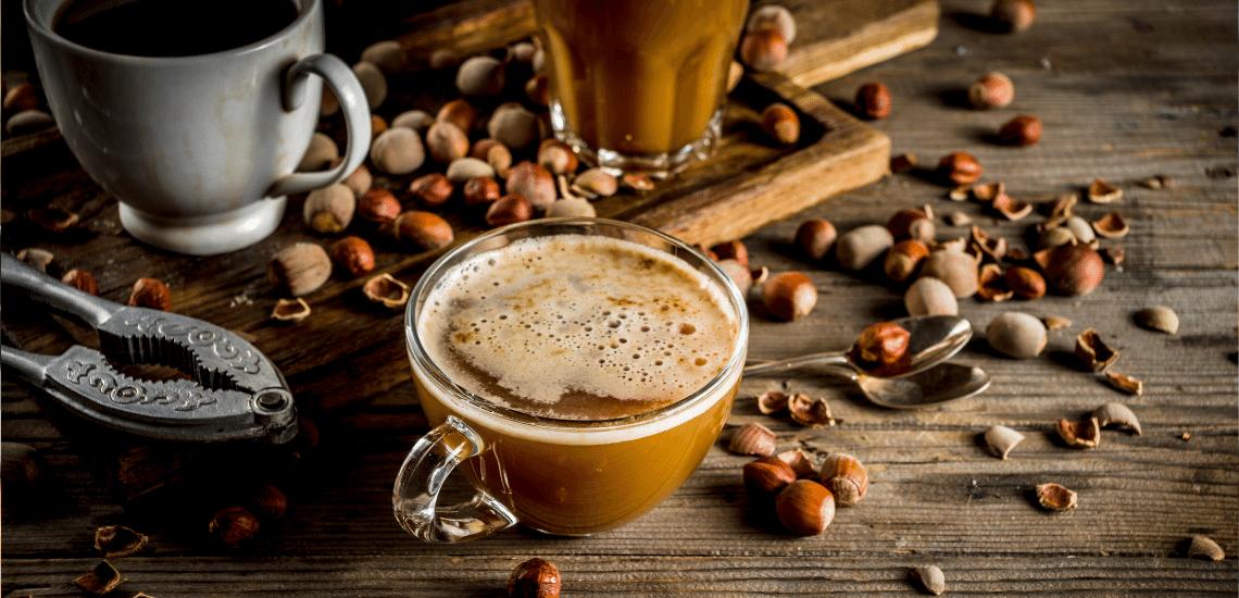 Nuts With Mint Mocha Latte